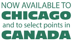 Available to Chicago and Canada